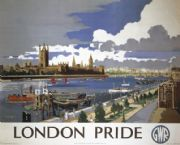 London Pride, English Travel Poster By Great Western Railway (GWR)